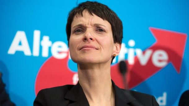 Frauke Petry, Président du parti Alternativ Für Deutschland
